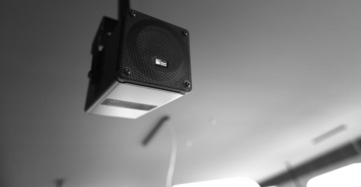 Hochwertiger Lautsprecher für Medienton