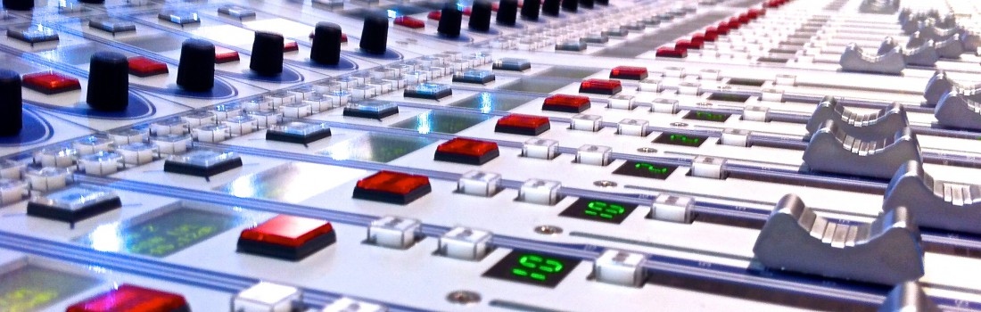 Rundfunkmischpult