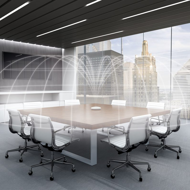 Shure Table Tisch Arraymikrofon, Fachplaner Medientechnik, Medienraum Technik, Konferenzraum Planer