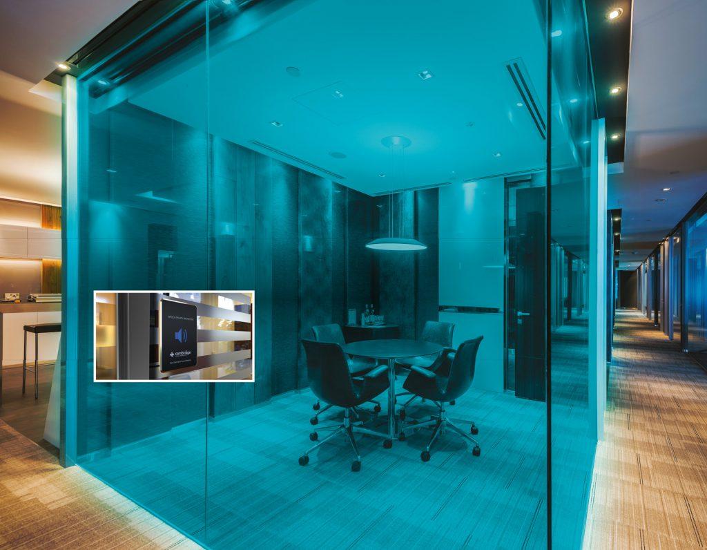 Huddle Room, Konferenzraum, Besprechung, Büro Diskretion, Fachplaner Medientechnik