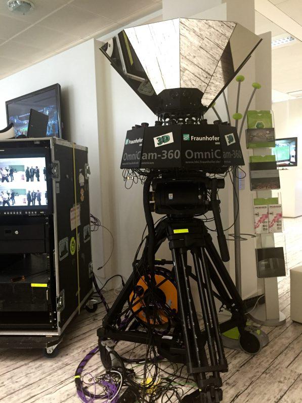 3IT Berlin Heinrich Hertz Institute, 360 Grad Kamera OmniCam-360, 3D Technik, Virtual Reality VR