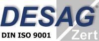 Das Bild zeigt das Logo des Desag Zert.