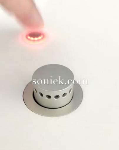 Das Bild zeigt ein motorischen Einbaumikrofon, das als Video auf Youtube.com zu sehen ist.
