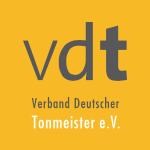 Logo des VDT, Verband Deutscher Tonmeister e.V.
