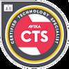 Das Bild zeigt das Logo des CTS Zertifikats.